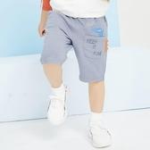 兒童短褲  兒童卡通中褲韓版小童寶寶七分褲百搭外穿薄  莎瓦迪卡
