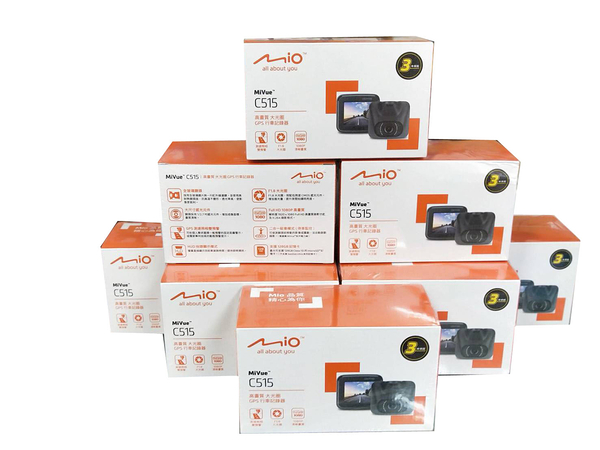 MIO C515 【送32G+停車監控線/保固三年】GPS 測速提示 行車記錄器