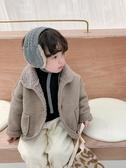 男童保暖外套-棉小班兒童冬裝外套中小童翻領磨砂絨上衣男童洋氣加厚保暖冬裝潮 喵喵物語