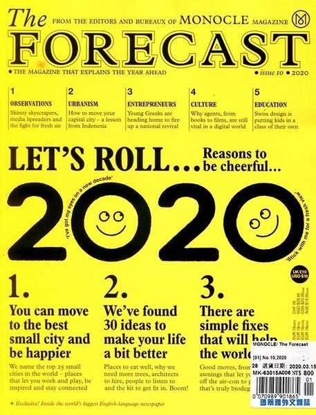 MONOCLE/The Forecast 第10期/2019:2020