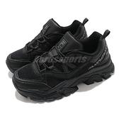 Fila 老爹鞋 Z Buffer 2 全黑 厚底 韓國熱銷 男鞋 女鞋 增高設計【ACS】 4C353V001