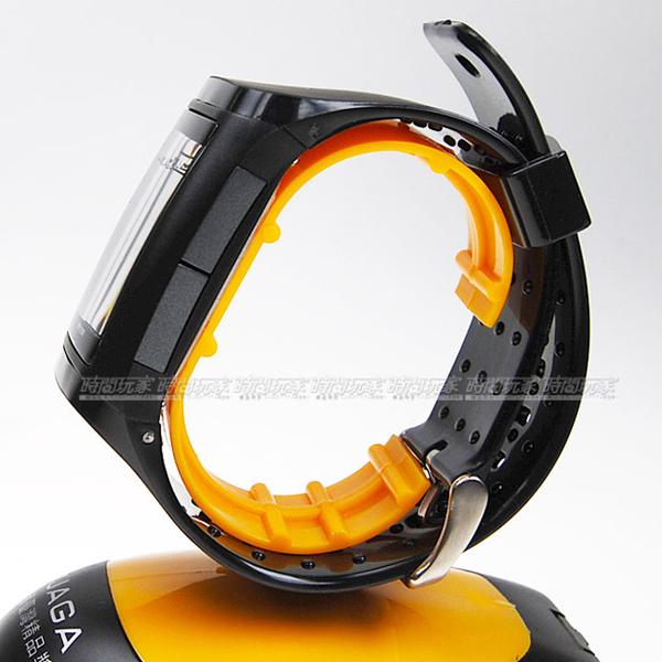 JAGA捷卡 樂活時尚休閒錶 多功能電子錶 日期 計時碼表 運動錶-黑色/男錶 手錶 黑 M866-A