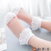 5雙|兒童水晶襪夏季薄款女童冰絲襪公主蕾絲花邊襪【淘夢屋】