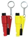 現貨-迷你破窗器-三合一車用救生錘-緊急安全錘-安全帶刀片-爆音口哨-自救工具