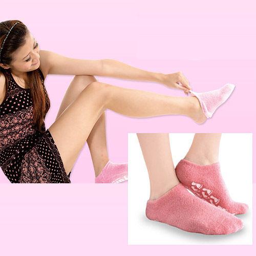 【輕鬆保養足部,效果更佳】驄豪 Foot Nurse, 女性保養級襪套, 呵護肌膚SPA全凝膠款 - 普若Pro