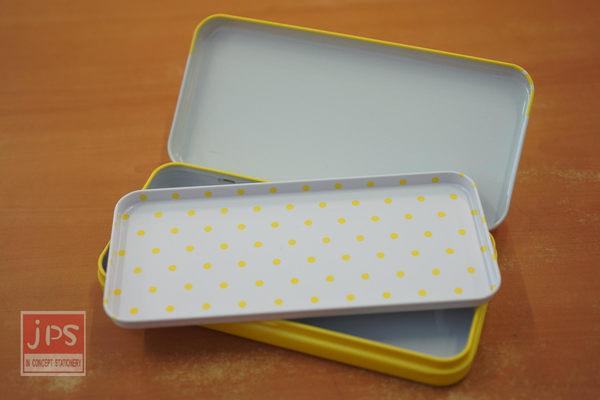 蛋黃哥 超大雙層鐵筆盒 (沒法度)