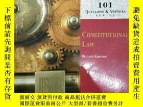 二手書博民逛書店101罕見Q & A Constitutional LAWY14