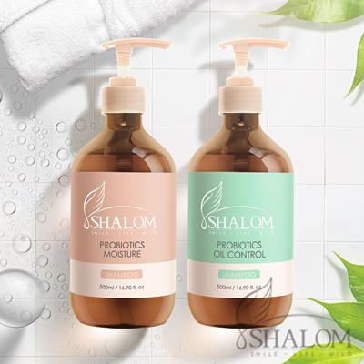 Shalom 希樂~ (2入組合) 益生菌(控油淨化/柔順保濕)洗髮精500ml