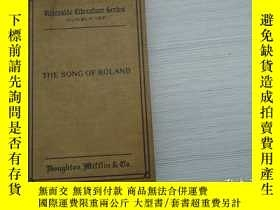 二手書博民逛書店THE罕見SONG OF ROLADA(32開精裝1本,原版 老