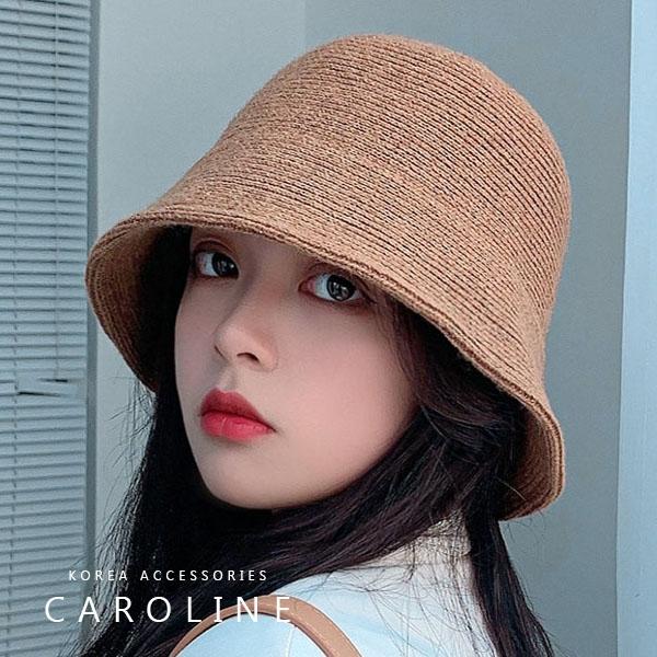 《Caroline》秋冬流行時尚個性網紅品味、氣質、時尚韓版盆帽 72503