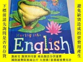 二手書博民逛書店Moving罕見into English(進入英語2)扉頁有名字Y6318 Authors Harcourt