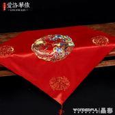 新娘頭紗 紅蓋頭中式新娘新款紅色流蘇結婚蓋頭紗刺繡古典秀禾服喜帕 晶彩生活