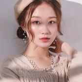 樹枝耳環s925銀女耳釘個性氣質韓國網紅耳墜