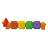 【香港 Ks Kids 奇智奇思】彩色安全積木-有趣的字母 SB00294