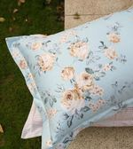 枕套全棉斜紋枕頭套48X74cm簡約田園風印花枕芯套床品一對裝