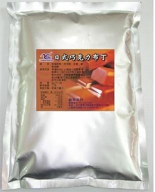 布丁果凍粉-日式巧克力布丁粉 (1kg)