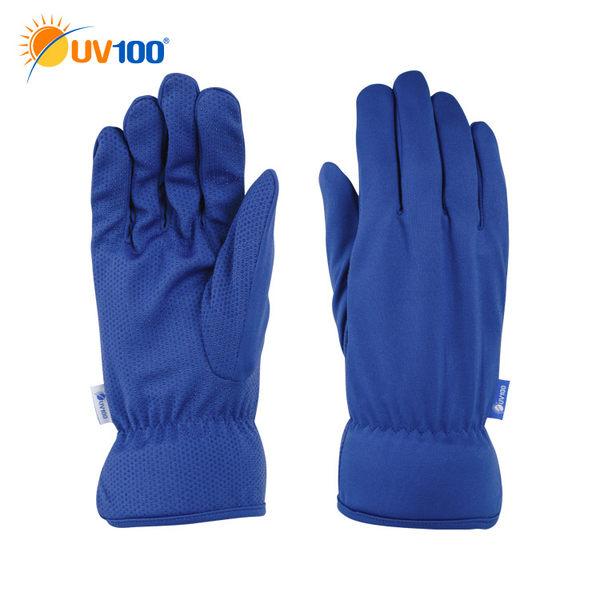快速出貨 UV100 防曬 抗UV-男款短手套-手心止滑