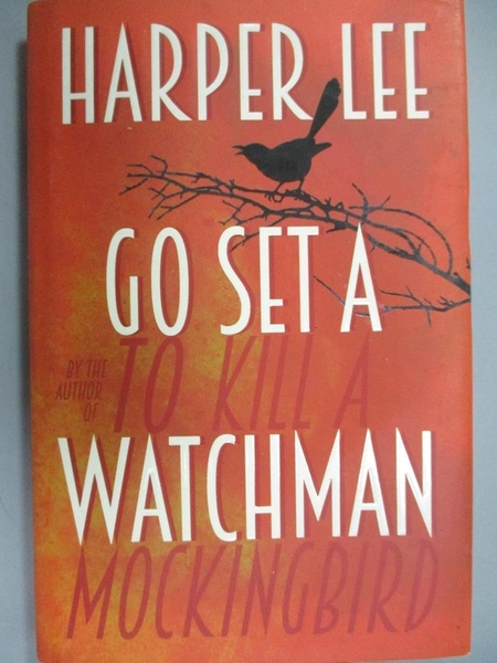 【書寶二手書T5/原文小說_WEA】Go Set a Watchman_Harper Lee