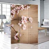 可訂製屏風隔斷辦公室咖啡廳歐式廳復古折疊移動180cm*40cm YXS   潮流衣舍