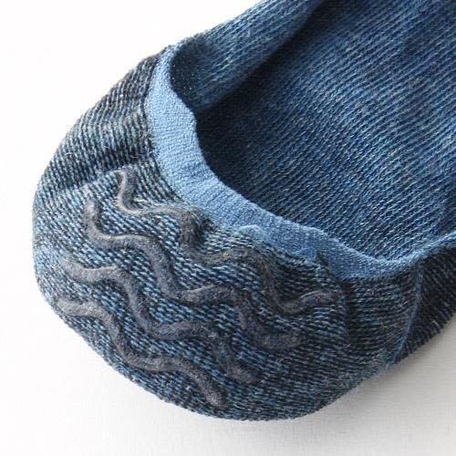日本河馬彩色條紋隱形襪~夏綠蒂didi-shop