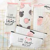 筆袋  韓國文具 簡約小清新筆袋 大容量帆布鉛筆盒女 創意學習用品 新品