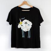 【MASTINA】巨蛋十周年聯名T恤(羊咩咩)-黑  秋裝限定嚴選