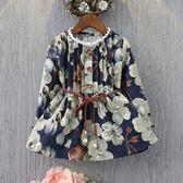 女童長袖洋裝兒童秋季新款
