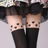 薄款女過膝假高筒連褲襪長筒襪子假大腿襪