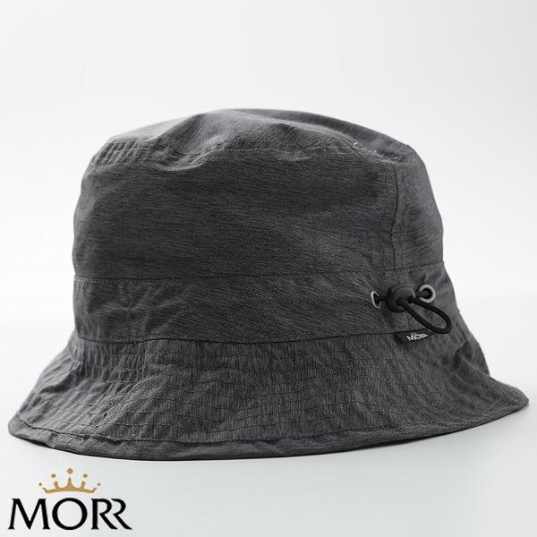 【MORR】Fisherman晴雨兩用收納帽-花紗黑
