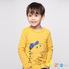 Azio Kids男童 上衣 帶帽子恐龍...