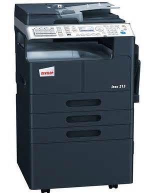 全新 DEVELOP ineo215 A3影印機/影印+列表+傳真+彩色掃描+送稿機+2紙匣~含安裝 ineo 215