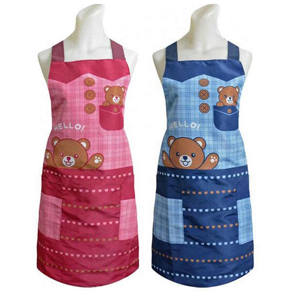 台灣製 口袋熊防水圍裙【DK大王】