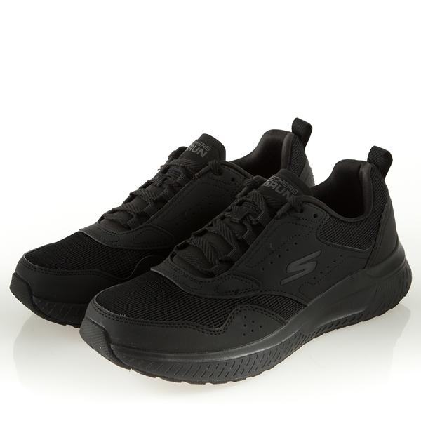 SKECHERS系列-運動系列 GORUN STEADY男款黑色慢跑鞋-NO.54886BBK