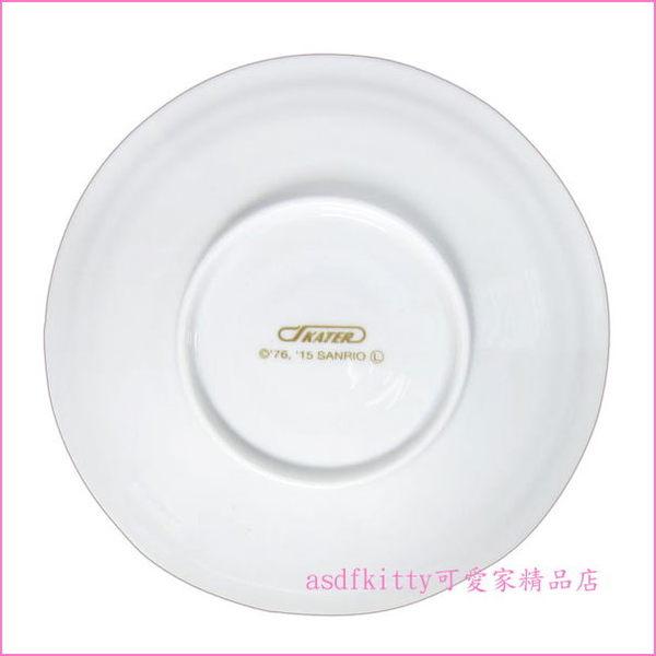 asdfkitty可愛家☆KITTY櫻花陶瓷盤-CAP12-小盤/點心盤-裝點心.小菜-餐具擺盤-日本製