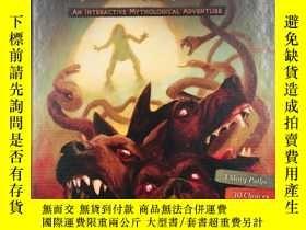 二手書博民逛書店Hercules罕見and His 12 Labors: An Interactive Mythological