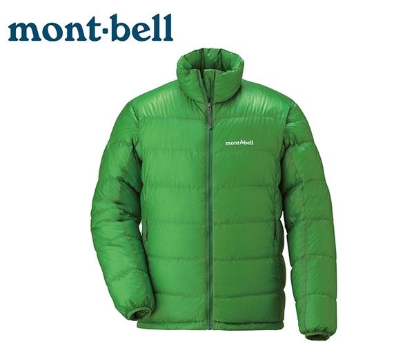 丹大戶外 日本【mont-bell】超輕羽絨外套 900FP高規格羽絨/保暖超輕量 1101415 CTS 仙人掌綠