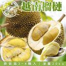【果之蔬-全省免運】越南榴槤20kg原箱X1箱(3-4入)
