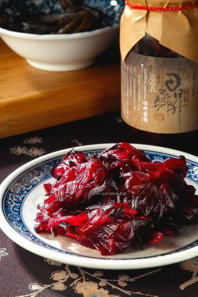 ~洛神蜜餞~單罐(有樹上紅寶石、紅葵之稱)(日昇之鄉)---台東縣太麻里農會