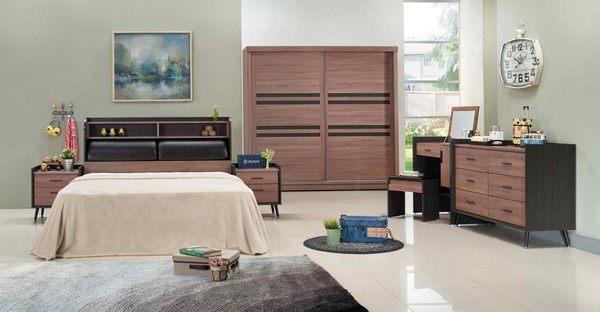 【森可家居】克德爾床頭櫃 7JX10-3 木紋質感 北歐工業風