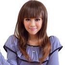 齊劉海俏皮感微捲直髮【W811】與日本同步流行擬真係假髮☆雙兒網☆