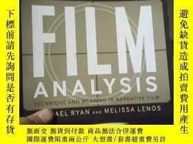二手書博民逛書店An罕見Introduction to Film Analysi