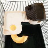 47x30x30cm基礎籠專用帶窩平台 倉鼠籠子用帶滑梯平台窩睡房WY 【快速出貨八五折鉅惠】