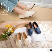 《SD0207》皮革休閒豆豆鞋/懶人鞋 OrangeBear