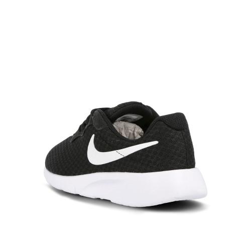 NIKE童鞋 男女童運動鞋 TANJUN PS 黑白基本款 透氣網布 慢跑鞋 跑步鞋 大童 Q7144#黑白◆奧森