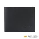 【BRAUN BUFFEL】大富翁-Ⅱ系列5卡透明窗皮夾 - 黑色 BF356-316-BK