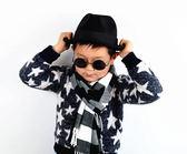 兒童眼鏡男女童親子防紫外線小孩墨鏡太陽眼鏡潮復古太陽鏡