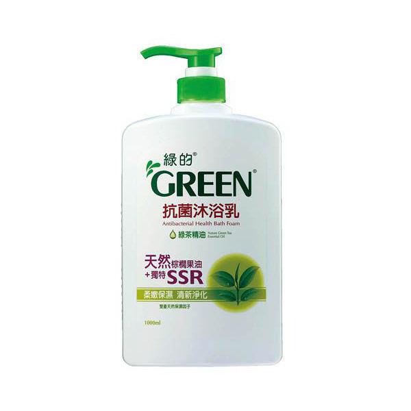 綠的 抗菌沐浴乳 綠茶 1000ml