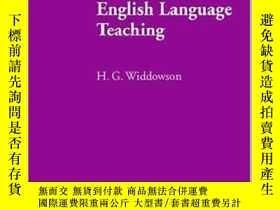 二手書博民逛書店Defining罕見Issues in English Language Teaching (Oxford App