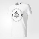 Adidas LOGO TEE [BK2802] 男 圓領 短袖 運動 休閒 舒適 棉T 愛迪達 白