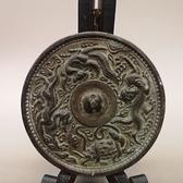 古玩雜項 青銅器擺件 招財吉祥四神獸銅鏡 圓形銅
